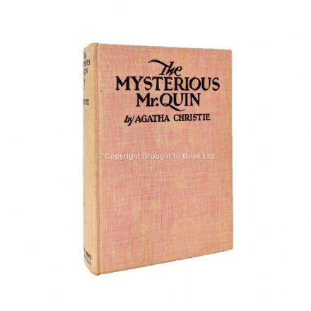 The Mysterious Mr. Quin Agatha Christie First Edition Dodd Mead & Company 1930